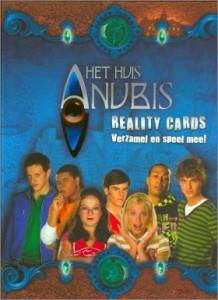 Het Huis Anubis Reality Cards