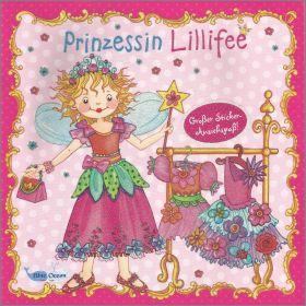 Prinzessin Lillifee -grober stickers anziehspab