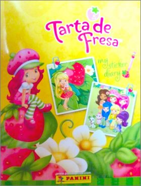 Tarta de Fresa My sticker Diary