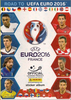 Voetbal Road to Euro 2016